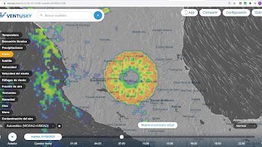 Anomalía sobre (Guanajuato) México aparece en el radar - Explicación