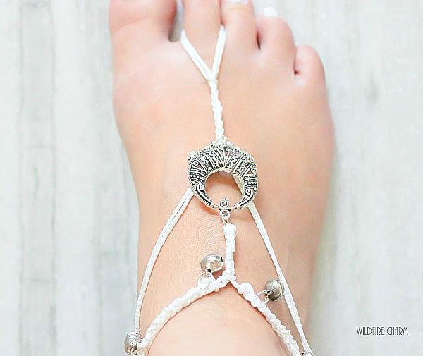 DIY Summer Bohemian Anklet