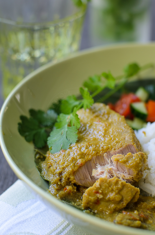 thick creamy Tuna Fish Curry
