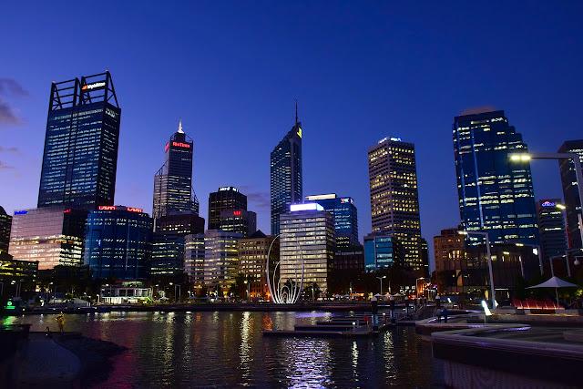 Skyline of Perth, Australia