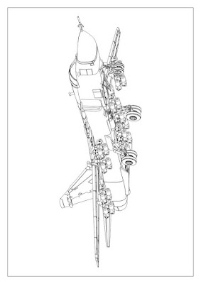 10mm Wargaming: Assembly Manual For 1/144 Su-24M from