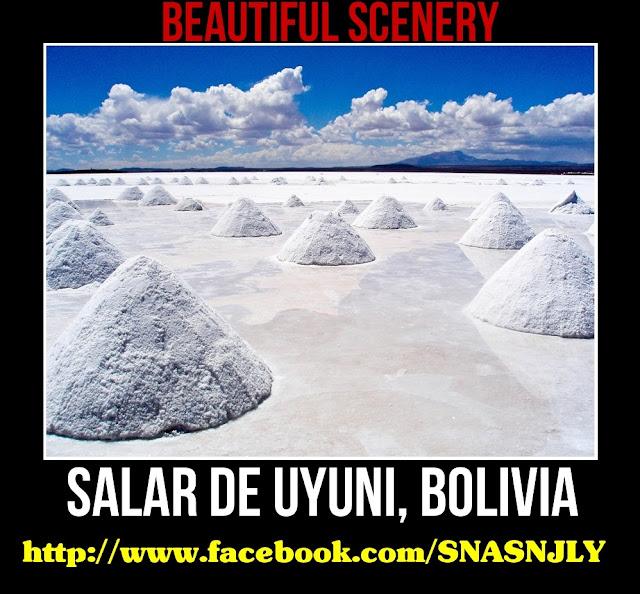 Salar De Uyuni, Boliva,Beautiful scenery