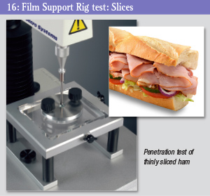 Film Support Rig - sliced meat