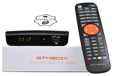 جديد الموقع الرسمي GTMedia V7S2X