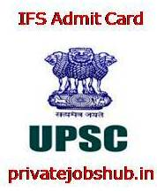 IFS Admit Card