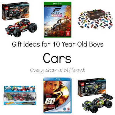 Gift Ideas for 10 Year Old Boys: Cars