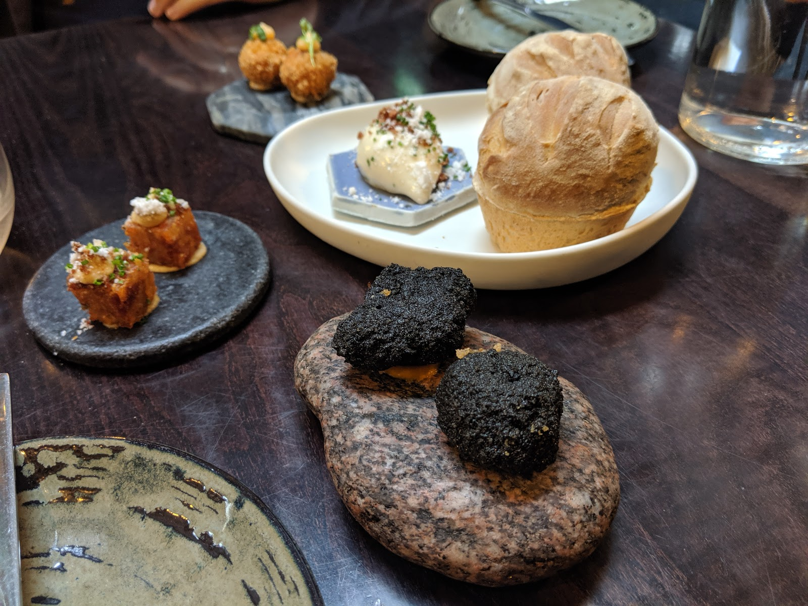 Peace & Loaf Jesmond - the best value special occasion restaurant in newcastle upon tyne. - complimentary bread and canapes