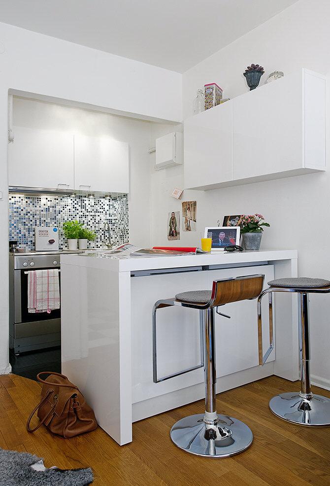 Dise o de cocinas peque as for Disenos de cocinas pequenas con barra