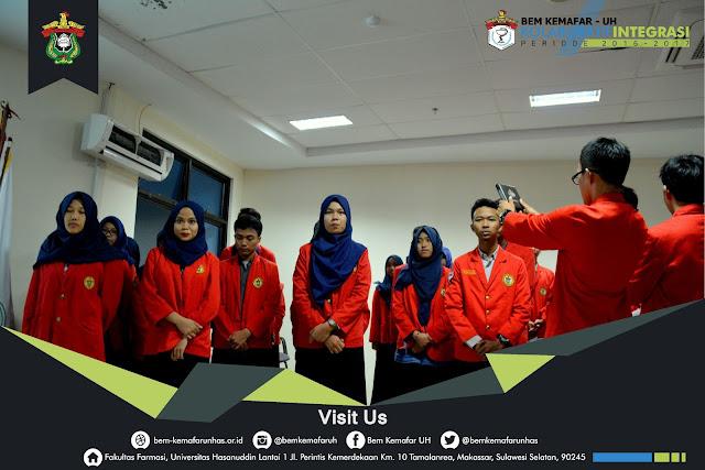 Pengurus Bem Kemafar-UH Periode 2016/2017 Dilantik