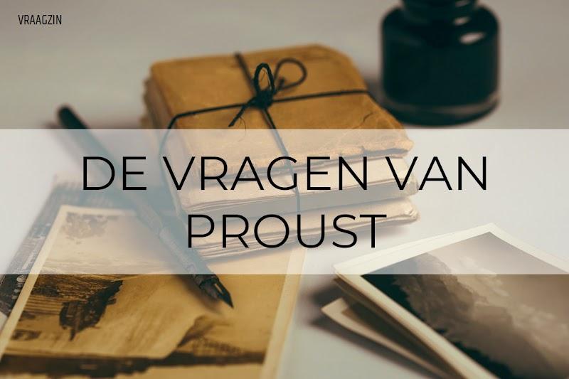 De vragenlijst van Proust: een overzicht van alle vragen