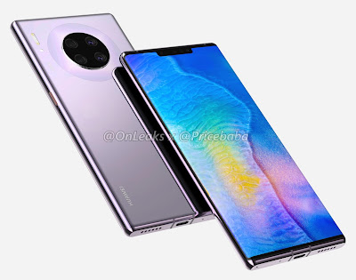 تسريب مواصفات هاتف Huawei Mate 30 Pro