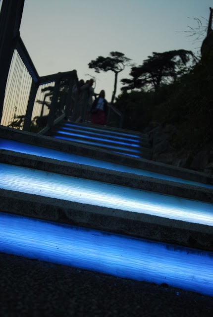 Świecące schody