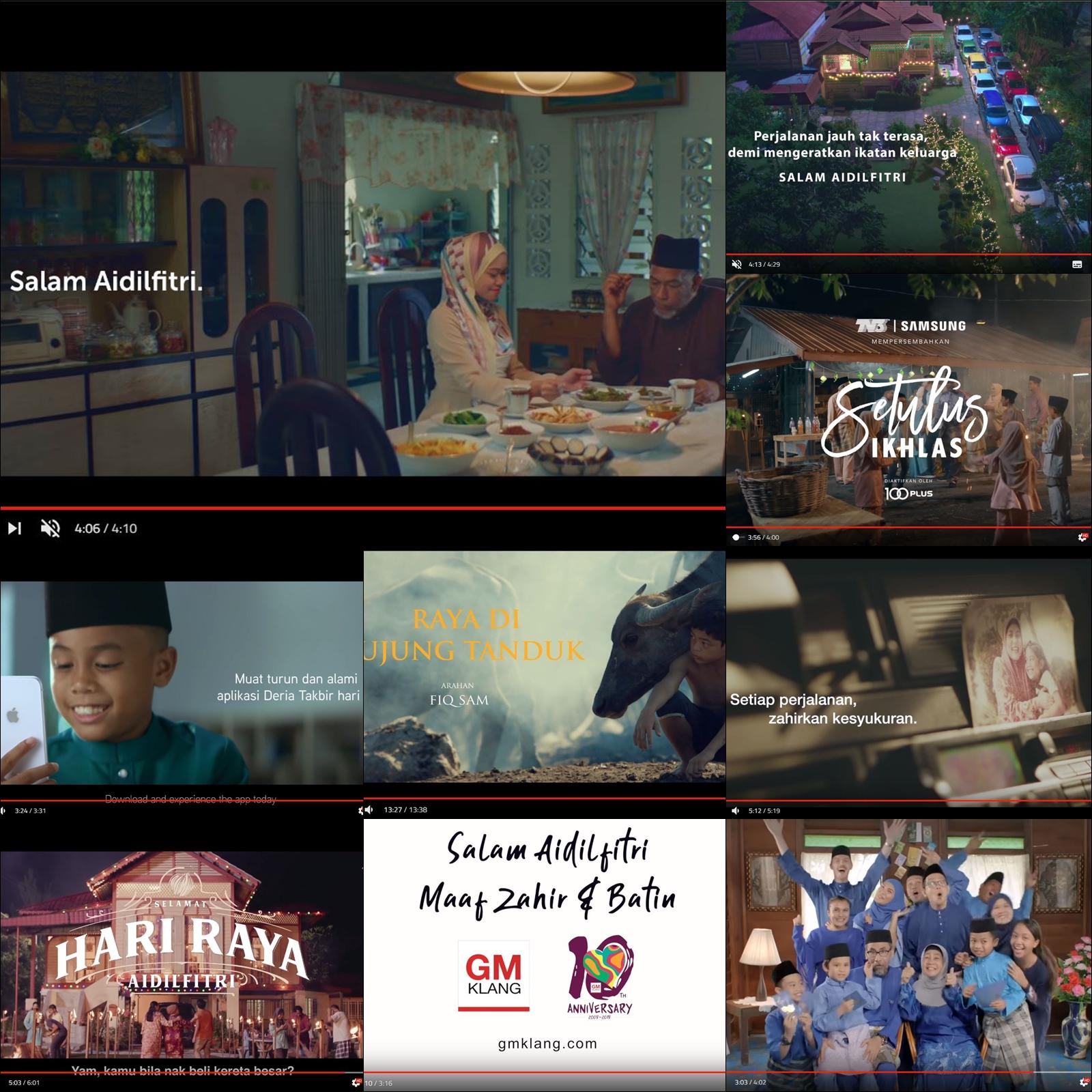Video Raya 2019, Iklan raya 2019, Yasmin Ahmad, Rawlins GLAM, Selamat Hari Raya 2019