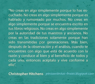 frases de Christopher Hitchens