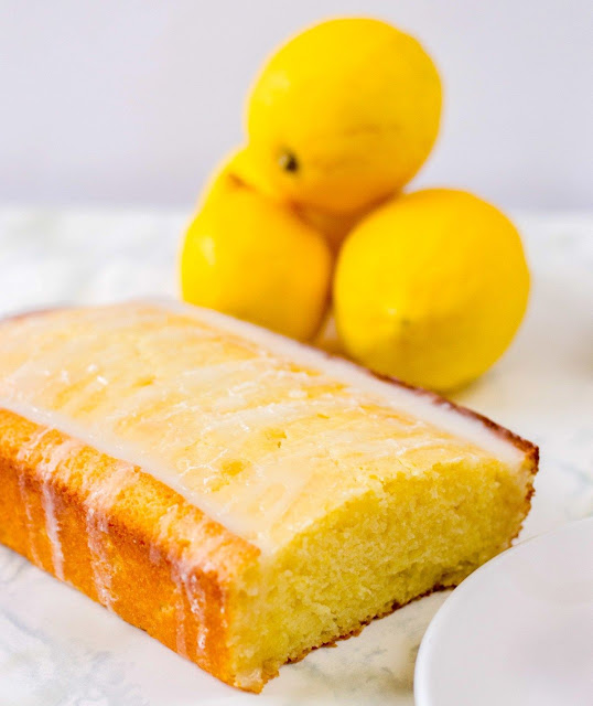 Lemon Loaf Recipe with Lemon Glaze