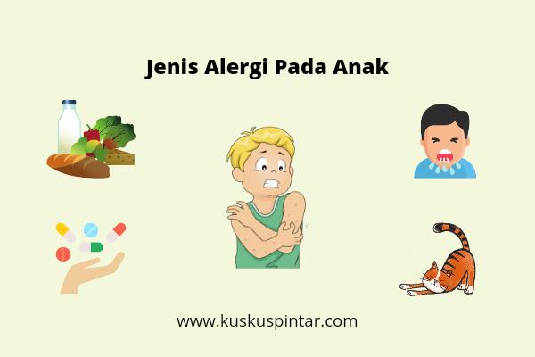 Jenis alergi pada anak
