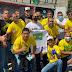 Ato organizado por apoiadores do Presidente Jair Bolsonaro tem grande adesão em Serrinha (BA)