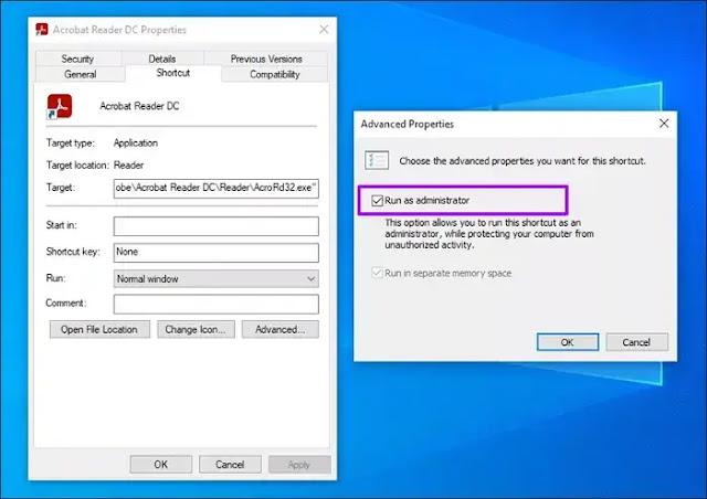كيفية إصلاح مشكلة عدم فتح Adobe Acrobat Reader DC في نظام التشغيل وينذوز 10