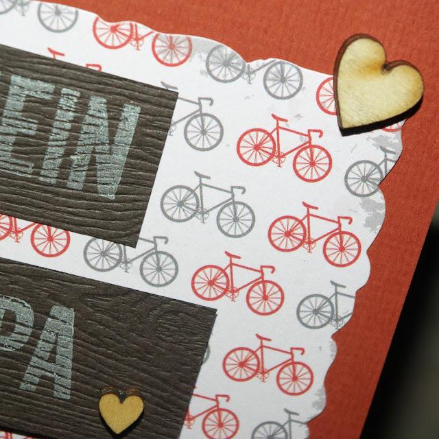 [DIY] Mein Papa kann alles! Vatertag-Grußkarte für Fahrradliebhaber