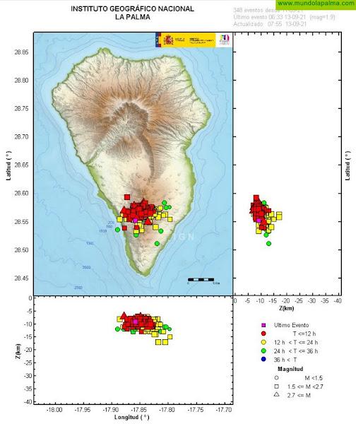 El Gobierno activa el PEVOLCA en la zona de Cumbre Vieja en La Palma para el seguimiento de la actividad sísmica