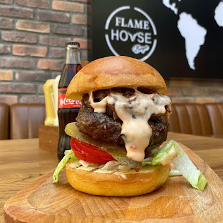 flame house burger kızılay ankara menu fiyat sipariş paket servis