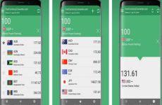 Fast Currency Converter: aplicación para convertir divisas en móviles Android