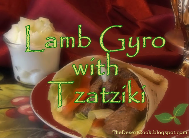 Lamb Gyro with Tzatziki photo by Candy Dorsey