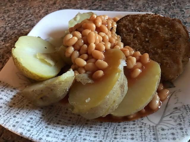 イギリス料理 ジャケットポテト