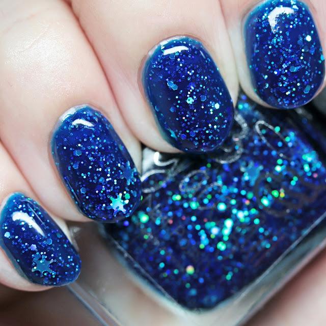 Grace-full Nail Polish Glitterally Christmas