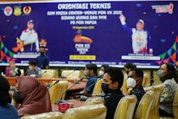 Kadkis Matdoan Sebut Pentingnya Orientasi Bagi SDM Media Center PON XX Papua