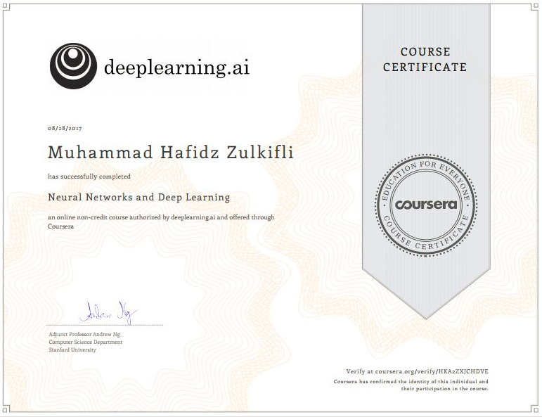 Reviewing Andrew Ngs Deep Learning Course Neural Network And Deep