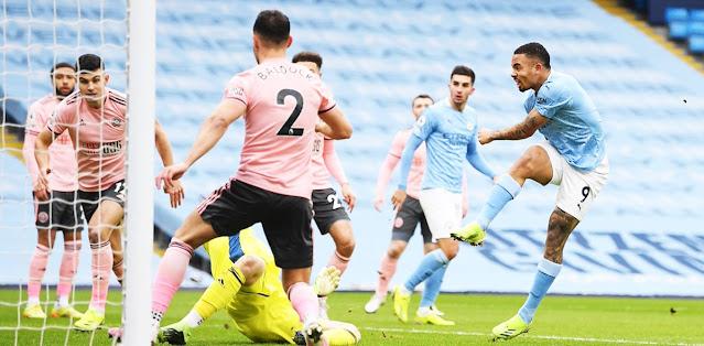 Manchester City vs Sheffield United Highlights