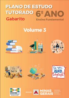 Gabarito 6º ano Volume 3