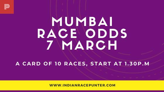 Mumbai Race Odds 7 March