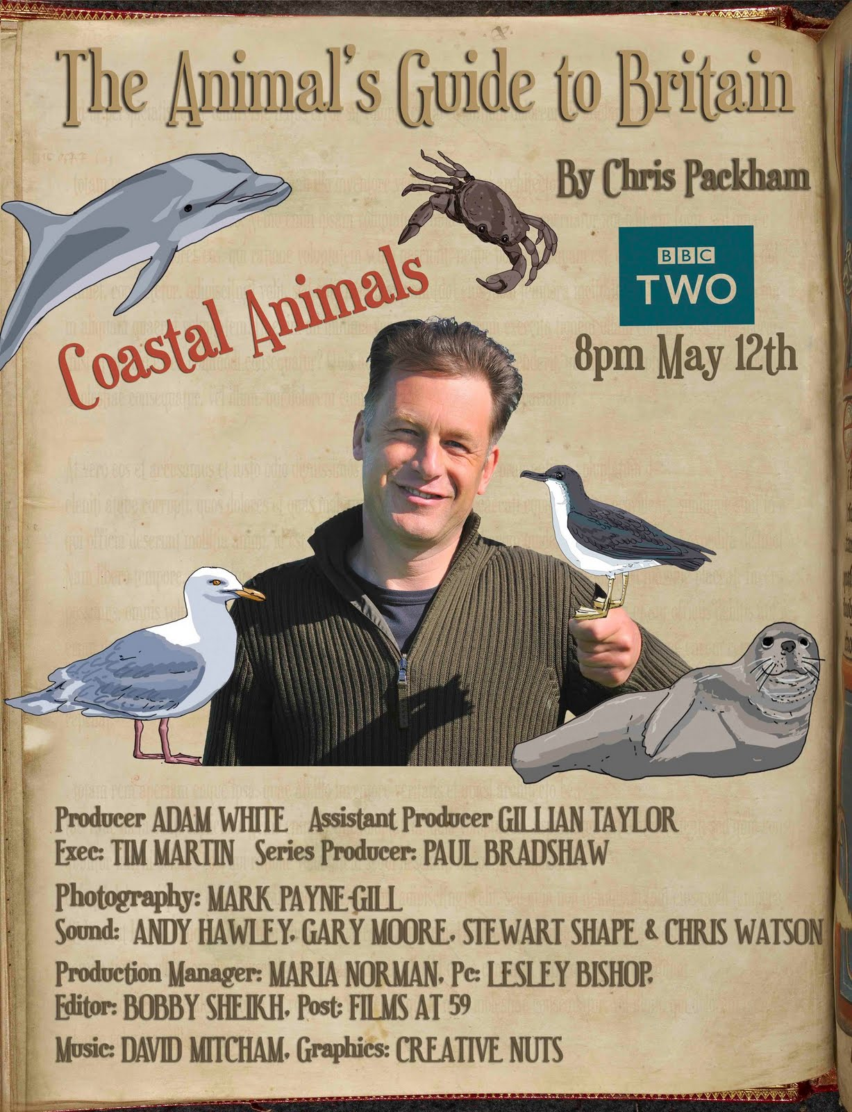 Coastal Animals with Chris Packham
