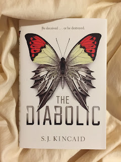 The Diabolic, Book Photography, book, Photograph, adventure, space, romance, politics, future, science fiction, SJ Kincaid