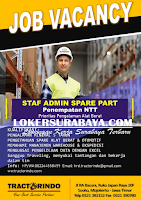 Job Vacancy at Tractorindo Mitra Utama Mojokerto Januari 2020