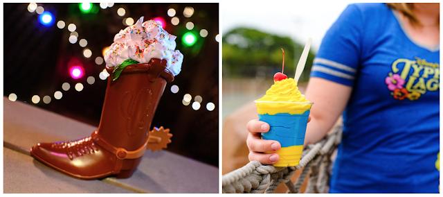 Disney World H20 Glow Nights ice cream boot