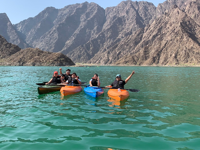 Kayaking in Hatta with Hatta Kayak