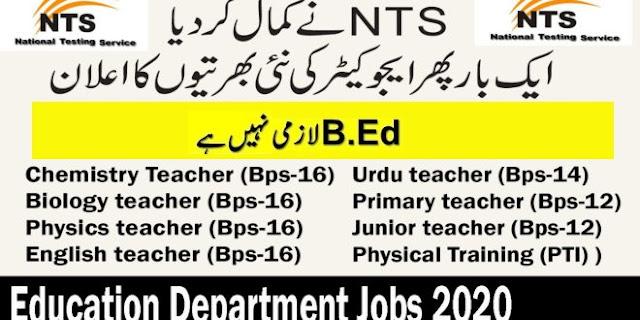 NTS Educator Teaching New Jobs 2020