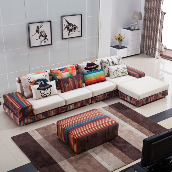 Corner Sofa Room Designs: Latest 70 Corner Sofa Set Designs For Large & Small Living