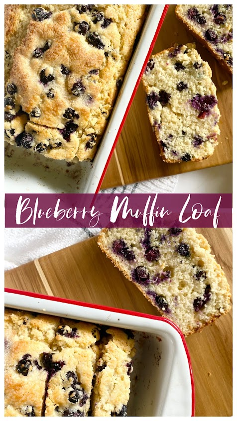 Blueberry Muffin Loaf