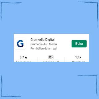 Aplikasi Gramedia Digital di Playstore