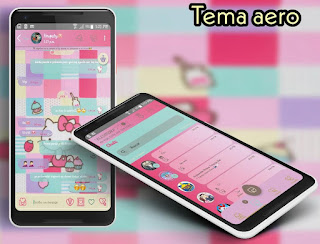 Hello Kitty Theme For YOWhatsApp & Aero WhatsApp By Ale