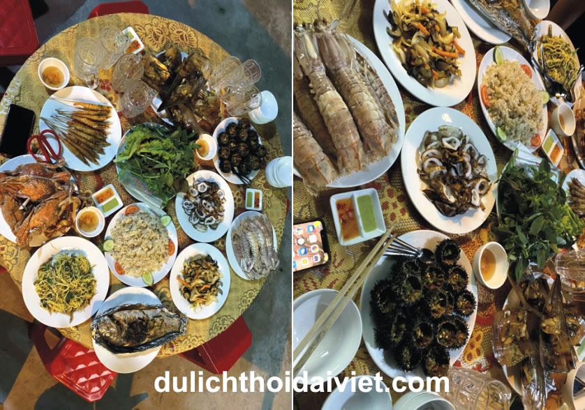 Tiệc BBQ Hải sản tại Hòn Sơn