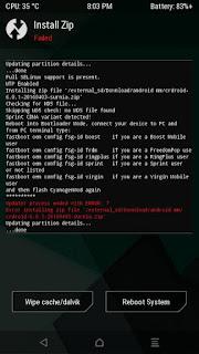 Cara Mengatasi Error 7 TWRP Saat Recovery di Android
