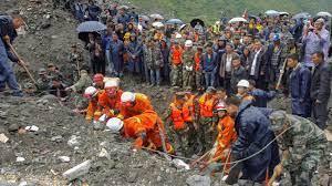 Landslide In Southwestern China