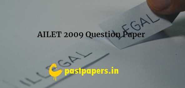 AILET 2009 Question Paper