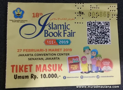 Tiket Islamic Book Fair 2019