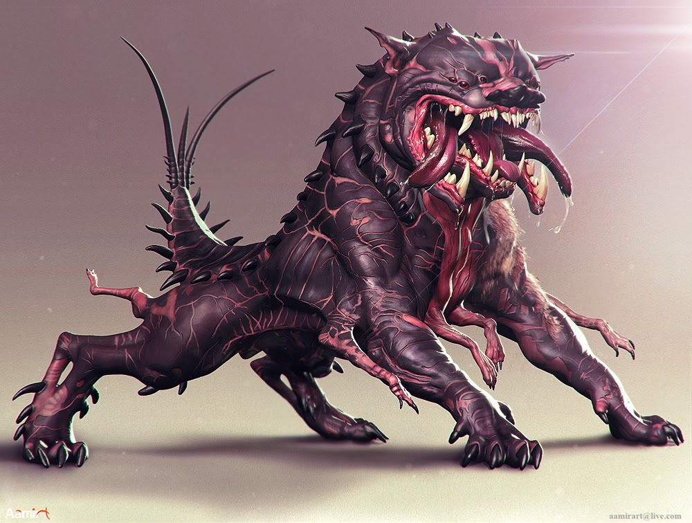 Wallpaper Monster Inc 3d Aamirart Digital Artist Cerberus